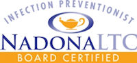 Infection Prevention Certification Logos